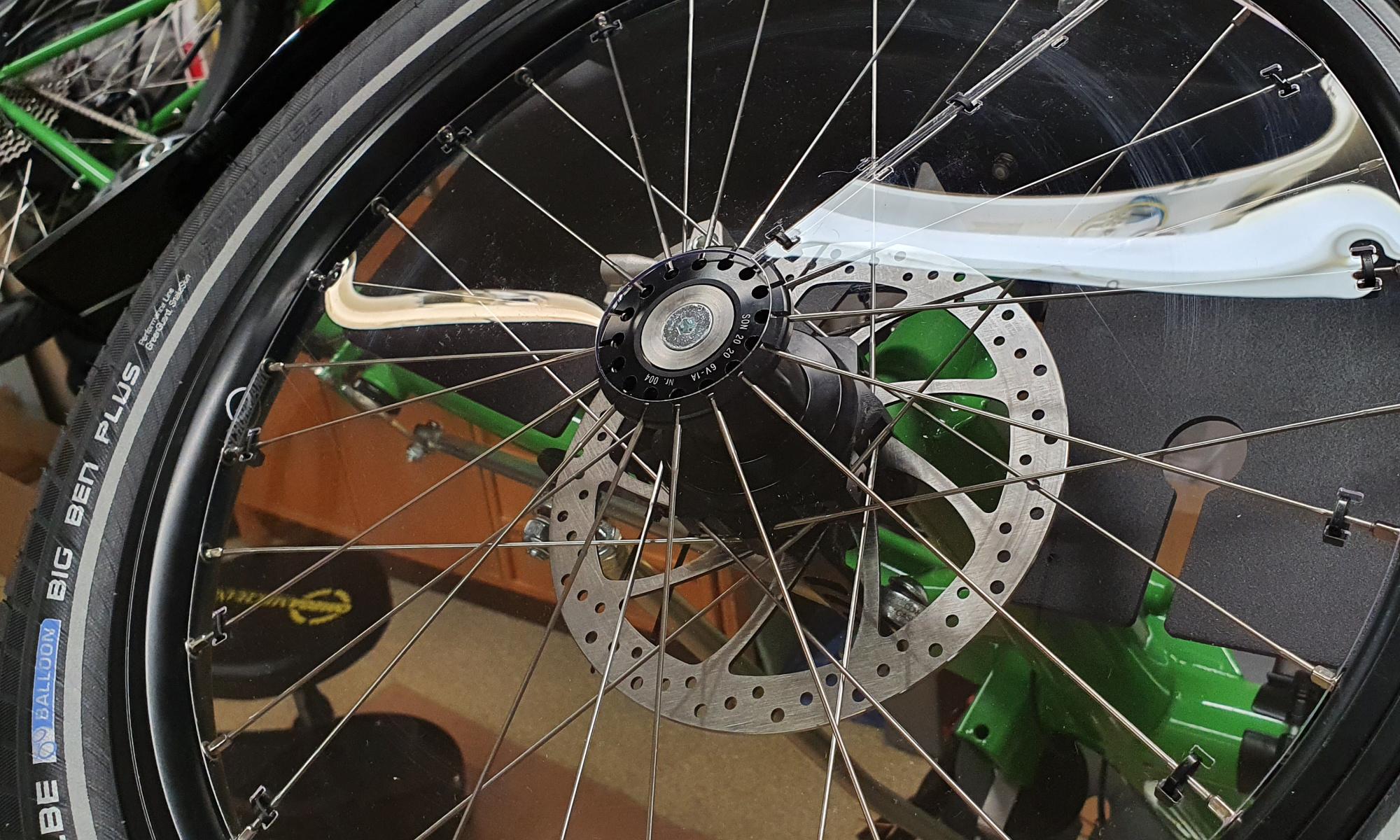 Urban Fahrradbau |  Tandemdreiräder und Reisefalträder